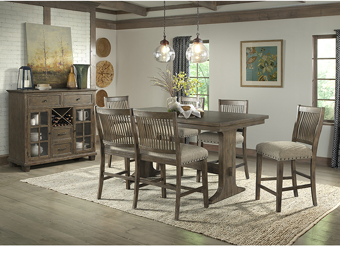 Charleston 5-pc. Counter Height Dining Set