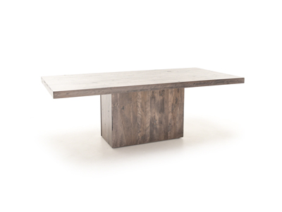 "42"" x 72"" Loft Pedestal Dining Table"
