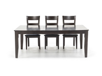 Dark Rustic 5-pc. Dining Set