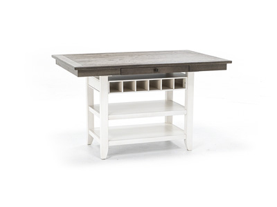 Ashbrook Counter Height Dining Table - White