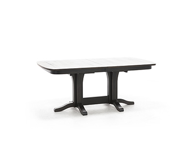 Daniel's Amish Millsdale Double Pedestal Table
