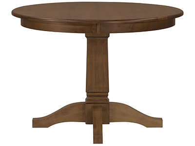 "Riley Almond 42"" Round Dining Table"