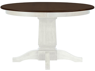 "Riley Ivory 48"" Round Dining Table"