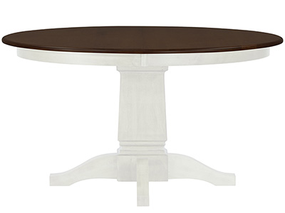"Riley Ivory 54"" Round Dining Table"