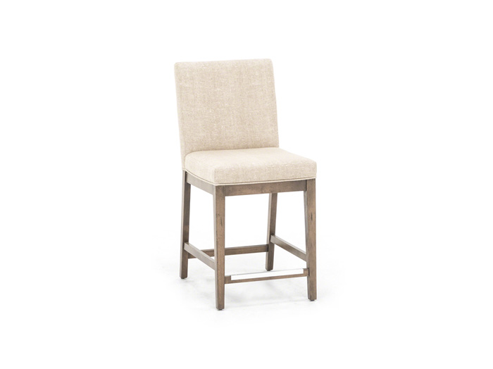 "Loft 24"" Upholstered Seat Stool"