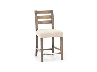 "Loft 25"" Upholstered Seat Stool"