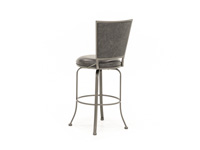 "Belle Grove 30"" Charcoal Swivel Stool"