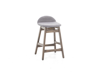 Space Savers Grey Counter Stool