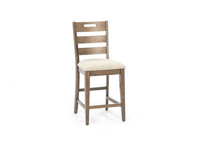 Fairwood Upholstered Ladderback Stool