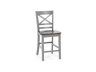 Asbury Park X-Back Counter Stool