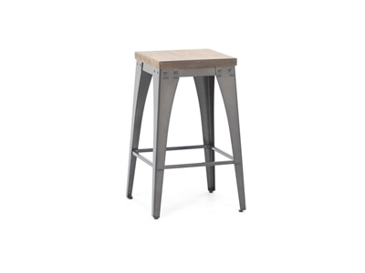 "Elwood Upright 26"" Stool"