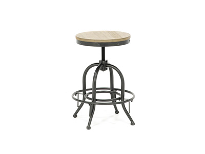 "Colton 19""-24"" Adjustable Barstool"