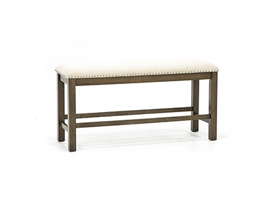 Willowbrook Upholstered Counter Bench