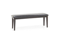 Dark Rustic Dining Bench