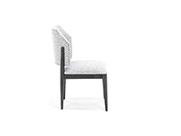 Spaces Evan Barrel Back Side Chair