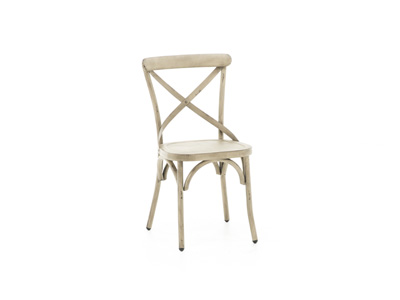 Menlo Park White Side Chair