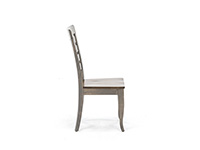 Gourmet Side Chair with Wood Seat