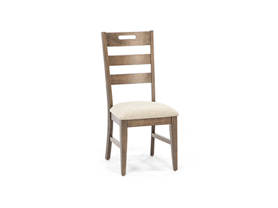 Fairwood Upholstered Ladderback Side Chair
