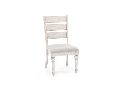 Heartland Ladderback Upholstered Side Chair