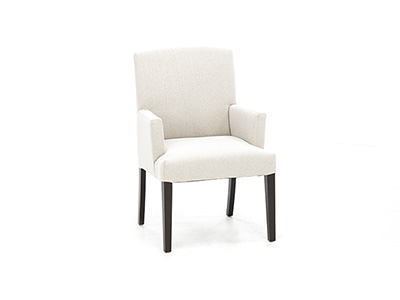Denai Upholstered Arm Chair in Sand