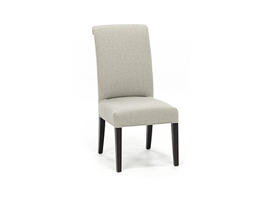 Sebree Upholstered Side Chair in Pebble