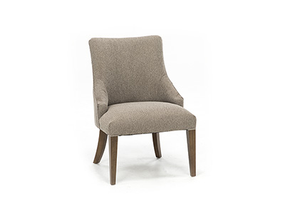 Elie Upholstered Side Chair in Pashmina