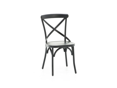 Menlo Park Black Side Chair