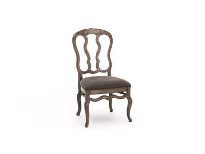 Belgian Oak Side Chair