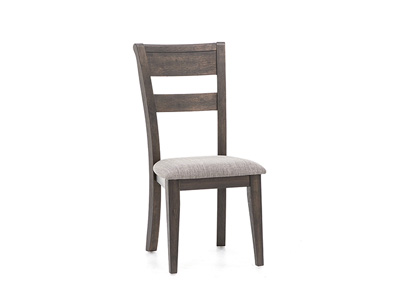 Double Bridge Splat Back Side Chair