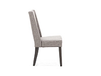 Double Bridge Upholstered Side Chair