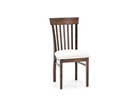 Anniversary II Venice Slatback Upholstered Side Chair