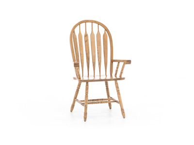 Trestle Arrowback Arm Chair
