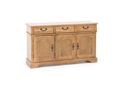 Trestle Oak Buffet