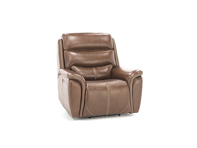 Dover Leather Power Headrest Recliner