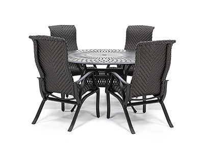 San Tropez 5-pc. Dining Set With 4 Dining Chairs