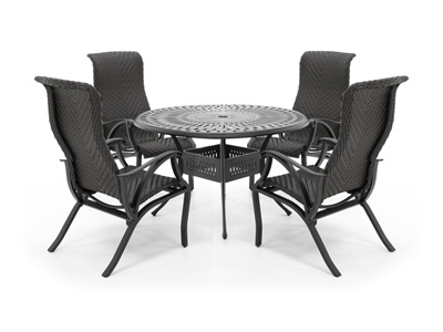 San Tropez 5-Pc. Dining Patio Set with 4 Dining Chairs