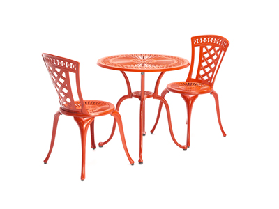 Cassidy 3-pc. Red Bistro Set