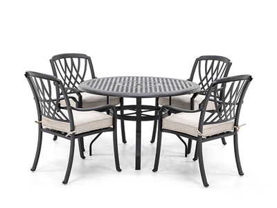 5 PC Classic Dining Set with 4 Dining chair