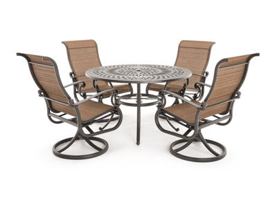 Mayfair 5-pc. Round Patio Set