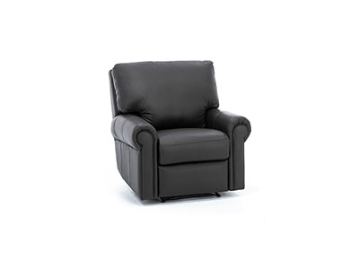 Design and Recline Fairfax Leather Power Recliner