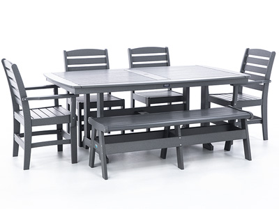 Napa 6-pc. Patio Dining Set