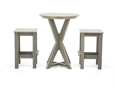 Hudson 3-Pc. Bistro Set with Stools