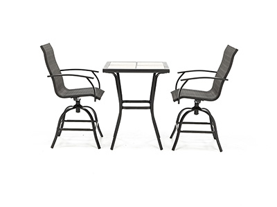 Monterey 3-pc Counter Height Bistro Set