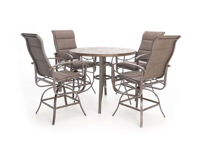 Perfect High Dining Patio Set