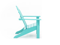Yarmouth Aruba Blue Adirondack Chair
