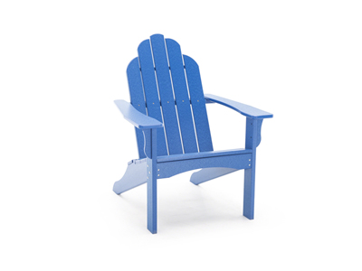 Yarmouth Blue Adirondack Patio Chair