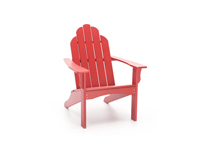 Yarmouth Red Adirondack Chair