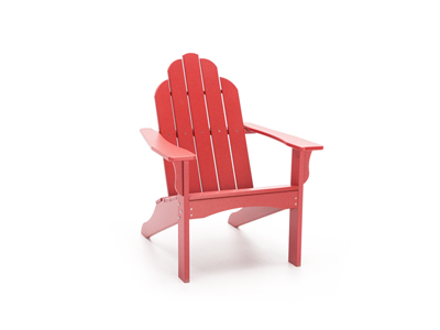 Yarmouth Red Adirondack Patio Chair