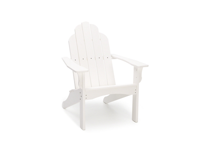 Yarmouth White Adirondack Patio Chair