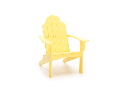 Yarmouth Yellow Adirondack Patio Chair